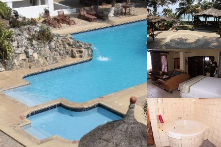 African Royal Beach Hotel photo collage