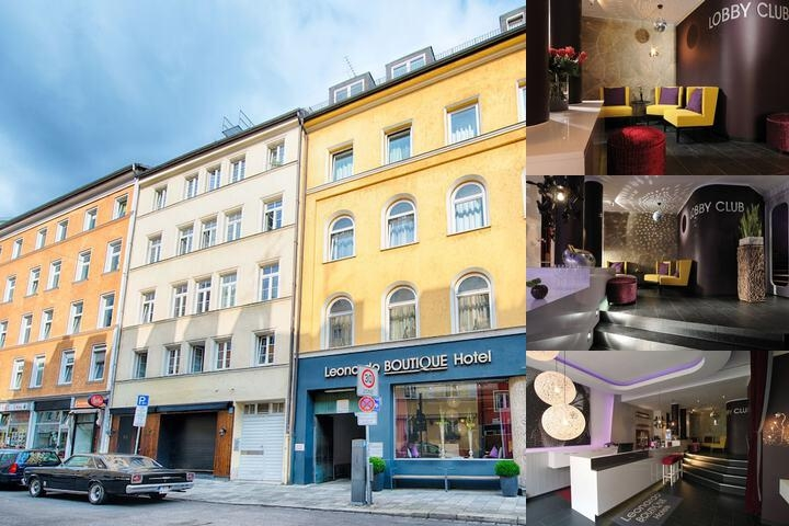Leonardo Boutique Hotel Munich photo collage
