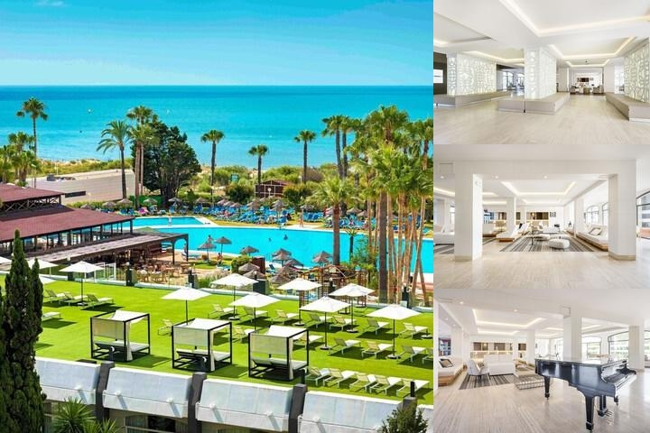 Ilunion Islantilla Hotel photo collage