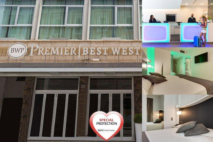 BW Premier Hotel Royal Santina photo collage