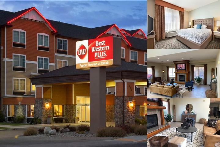 Best Western Plus Peppertree Inn at Omak photo collage