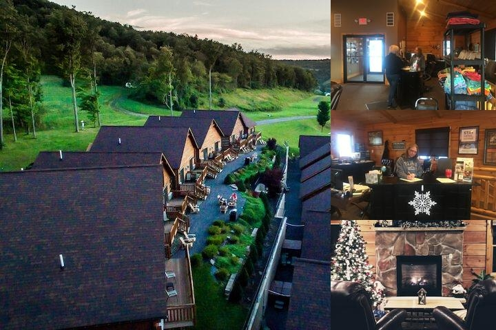 The Lodges at Sunset Village photo collage