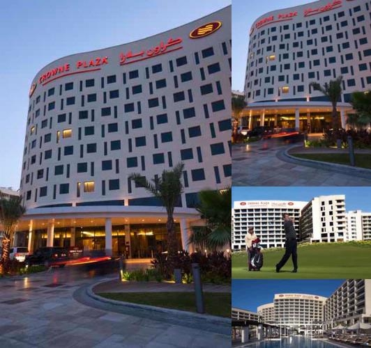 Crowne Plaza Abu Dhabi Yas Island photo collage