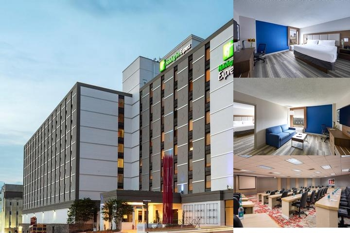 Holiday Inn Express Nashville Downtown photo collage