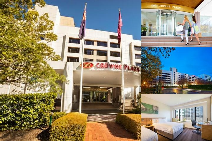Crowne Plaza Canberra photo collage