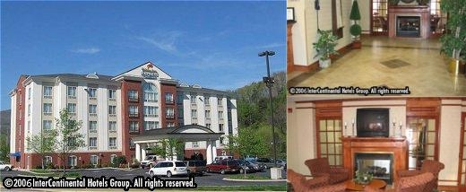 Holiday Inn Express & Suites Chattanooga Lookout Mtn photo collage