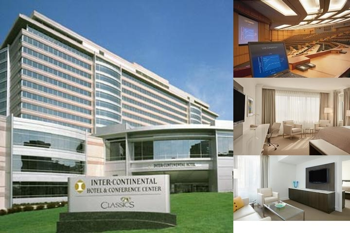 Intercontinental Cleveland photo collage