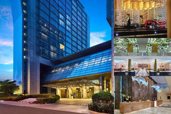 Intercontinental Qingdao photo collage