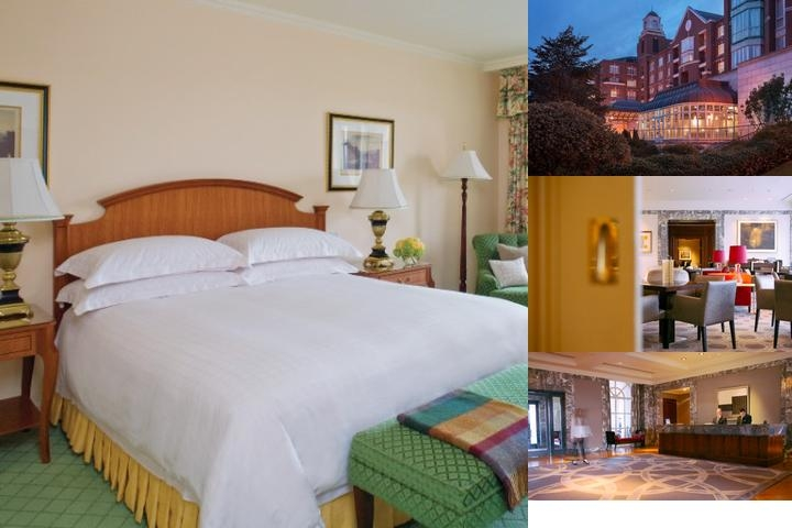 Intercontinental Dublin photo collage