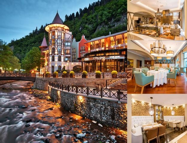 Crowne Plaza Borjomi photo collage