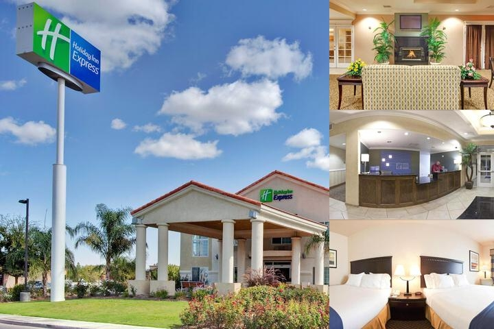 Holiday Inn Express Delano Hwy 99 photo collage