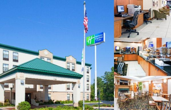 Holiday Inn Express & Suites Fayetteville Ft. Bragg photo collage