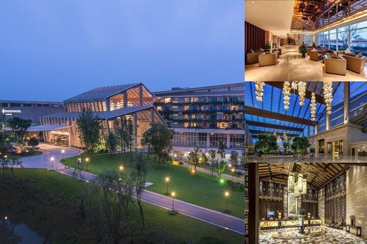 Intercontinental Heilong Lake photo collage