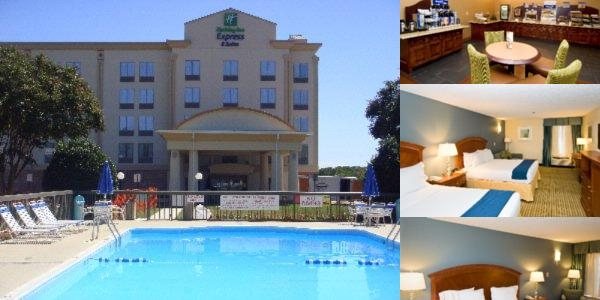 Holiday Inn Express & Suites Fredericksburg photo collage