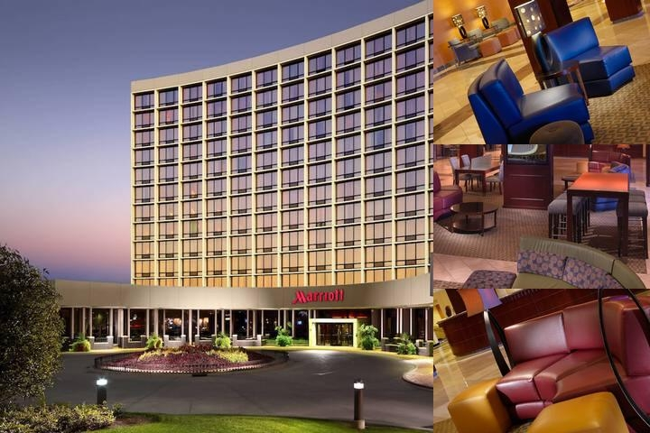 Chicago Marriott Oak Brook photo collage
