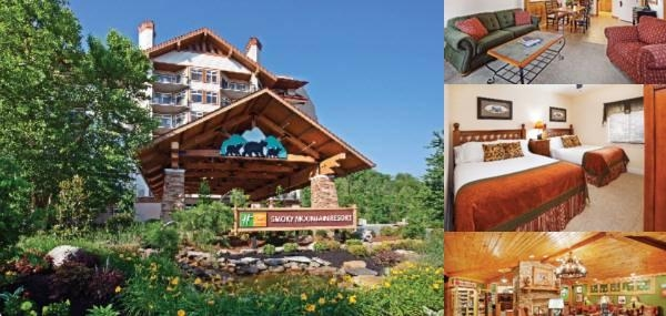 Holiday Inn Club Vacations Gatlinburg Smoky Mountain Rst photo collage