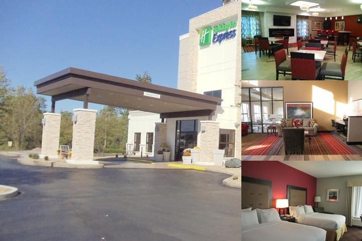 Holiday Inn Express Cloverdale (Greencastle) photo collage