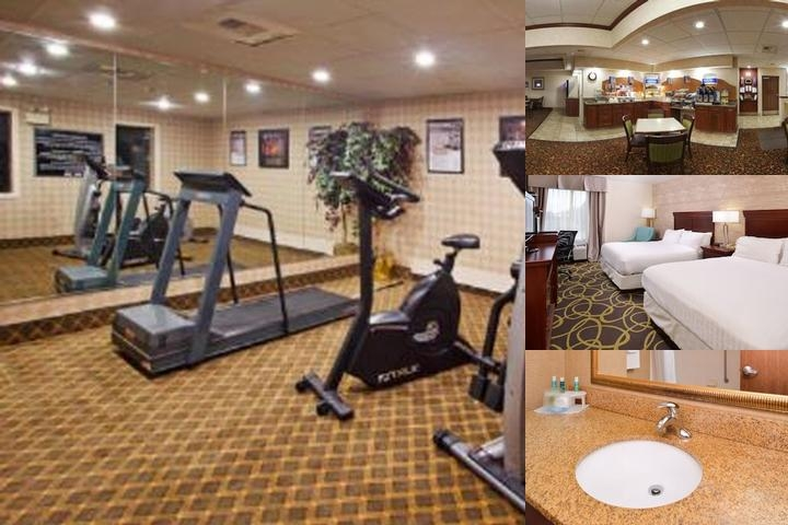 Holiday Inn Express Hotel Dayton Huber Heights photo collage