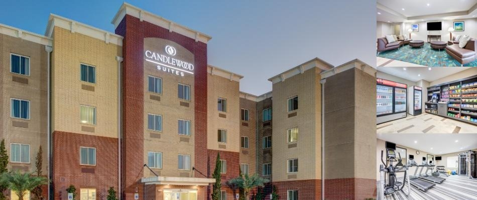 Candlewood Suites Cut Off photo collage