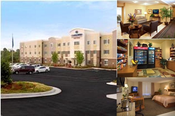 Candlewood Suites Lawton Fort Sill photo collage