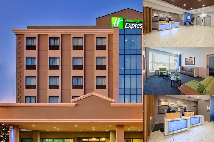 Holiday Inn Express Los Angeles Lax Airport photo collage