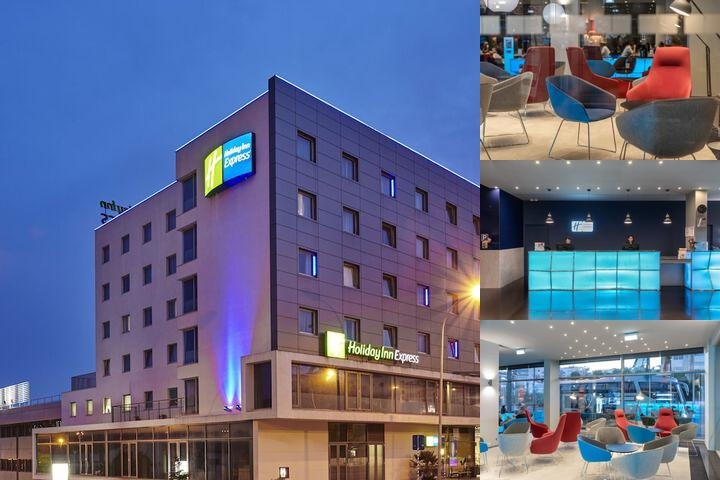 Holiday Inn Express Lisbon Alfragide photo collage