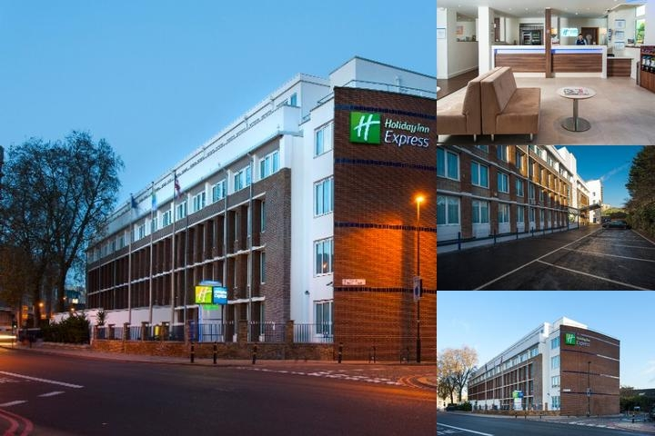 Holiday Inn Express London Vauxhall Nine Elms photo collage