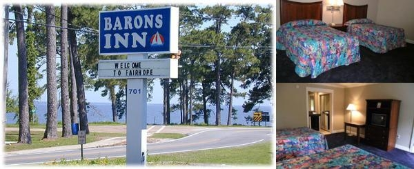 Barons Inn photo collage