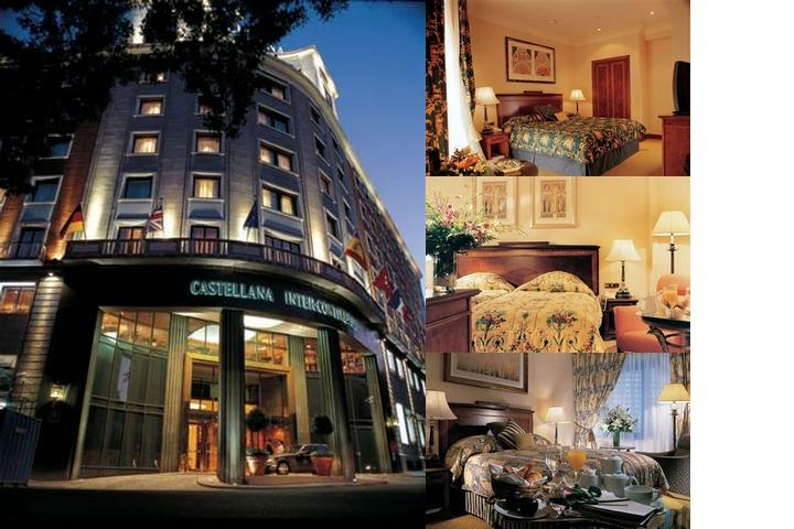 Intercontinental Madrid photo collage