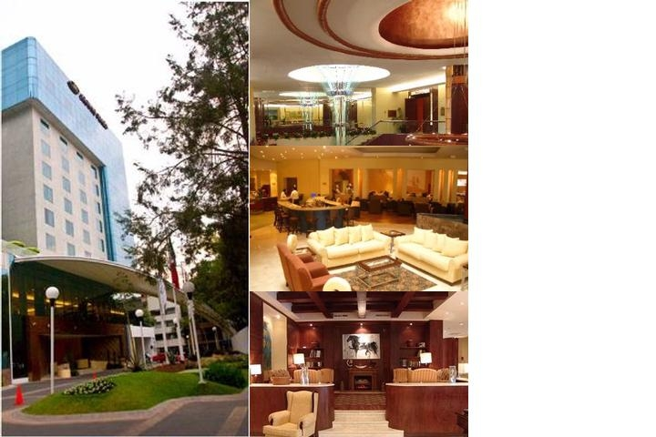 Crowne Plaza Hotel De Mexico photo collage
