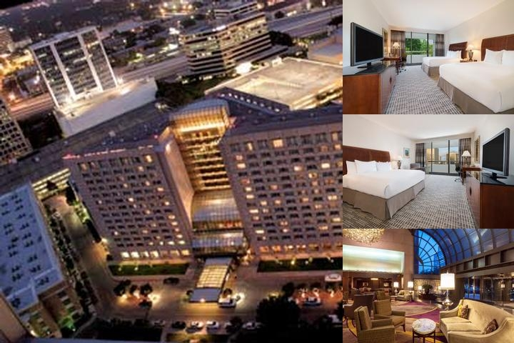 Hilton Houston Post Oak photo collage