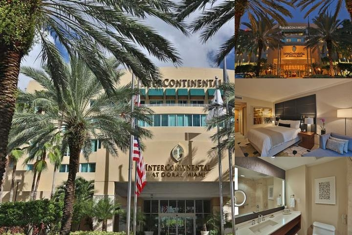 Intercontinental at Doral Miami photo collage