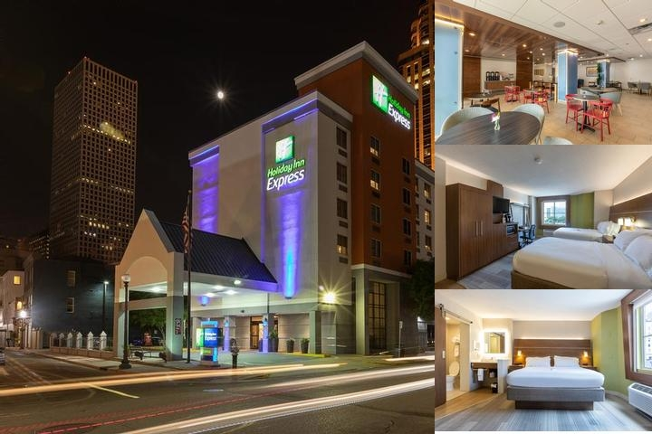 Holiday Inn Express New Orleans Downtown photo collage