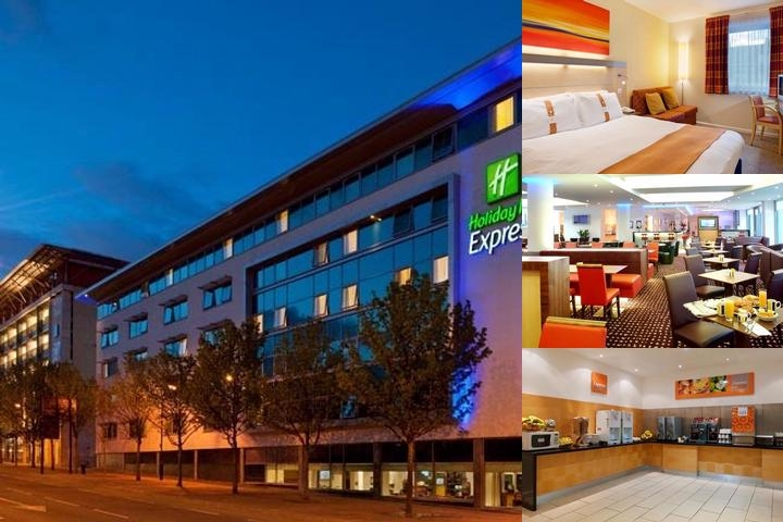 Holiday Inn Express Newcastle City Centre photo collage