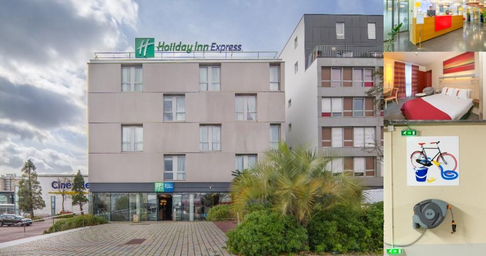 Holiday Inn Express Saint Nazaire photo collage