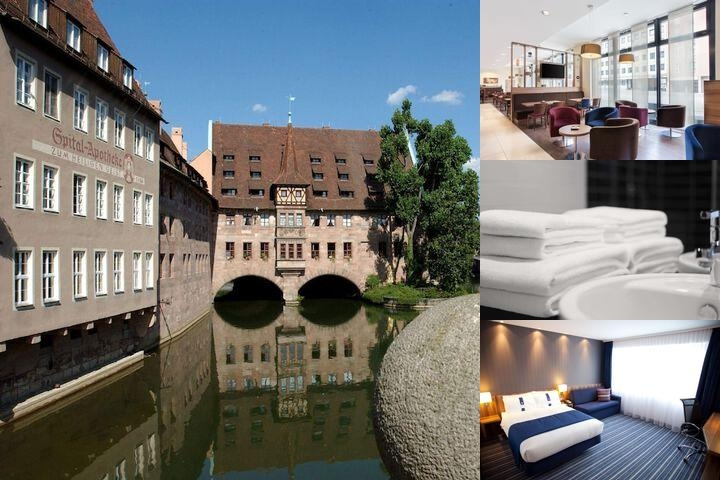 Holiday Inn Express Nuremberg City Hauptbahnhof photo collage