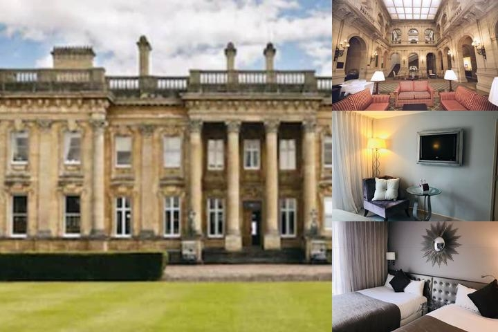 Heythrop Park Hotel photo collage