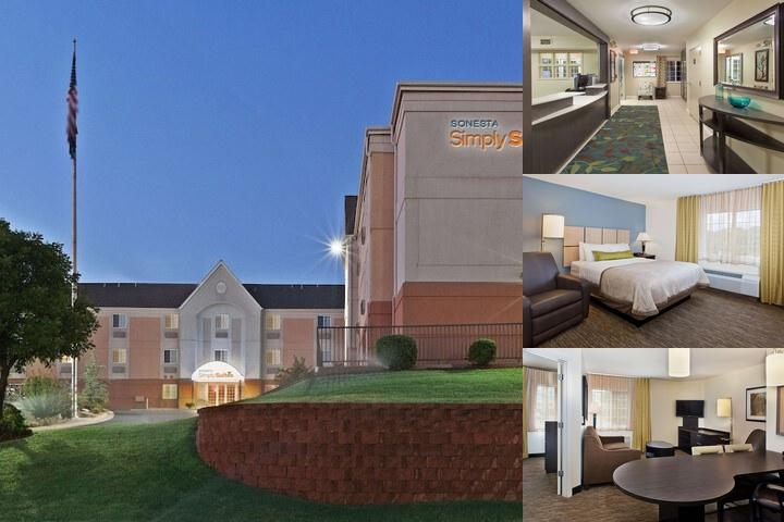 Candlewood Suites Oklahoma City photo collage