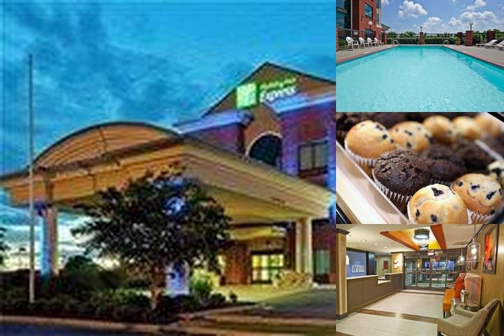 Holiday Inn Express & Suites Olive Branch photo collage