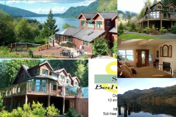 South Bay Bed & Breakfast at Lake Whatcom photo collage