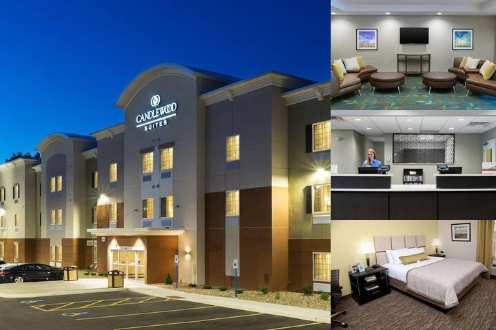 Candlewood Suites Grove City Outlet Center photo collage