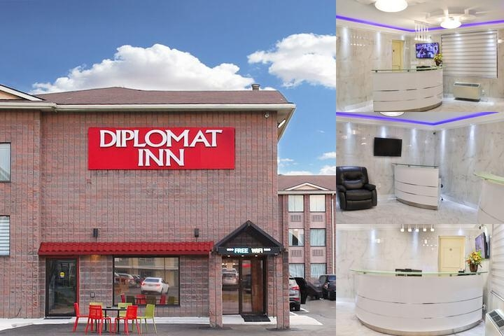 Diplomat Inn photo collage
