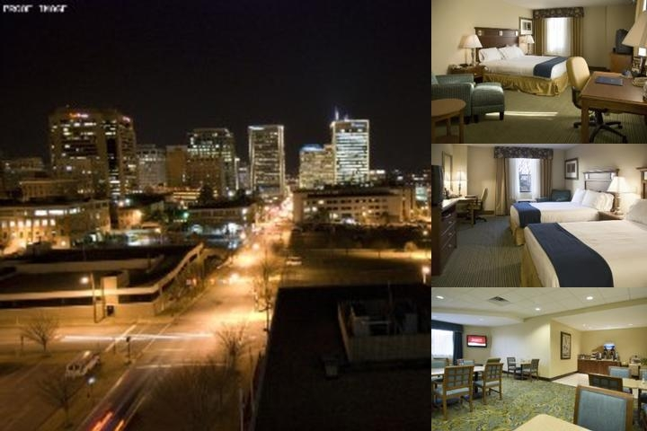 Holiday Inn Express Richmond Downtown photo collage
