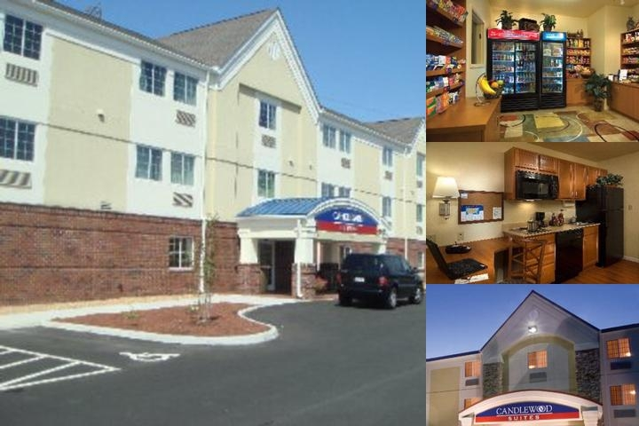 Candlewood Suites Colonial Heights Ft. Lee photo collage