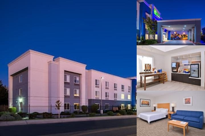 Holiday Inn Express Stockton Southeast photo collage