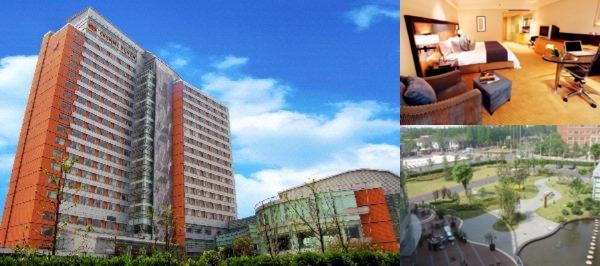 Crowne Plaza Shanghai Fudan photo collage