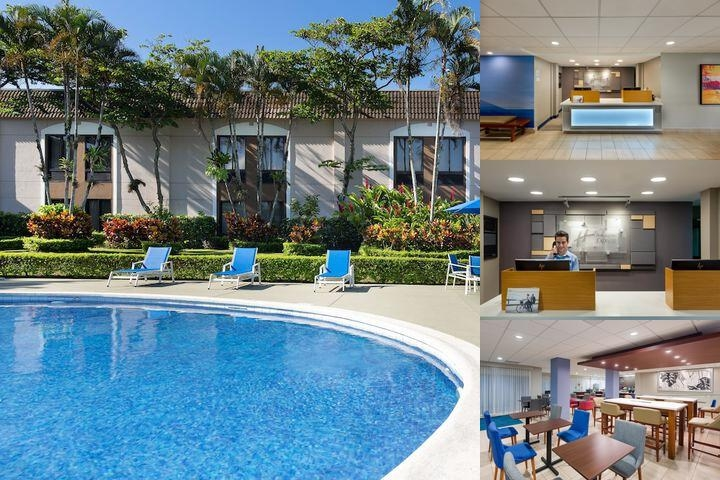 Holiday Inn Express San Jose Costa Rica Airport photo collage