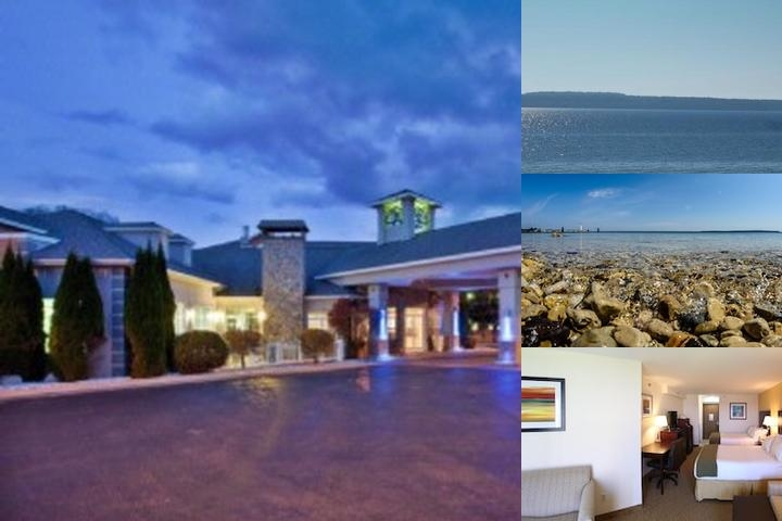 Holiday Inn Express St. Ignace Lake Front photo collage