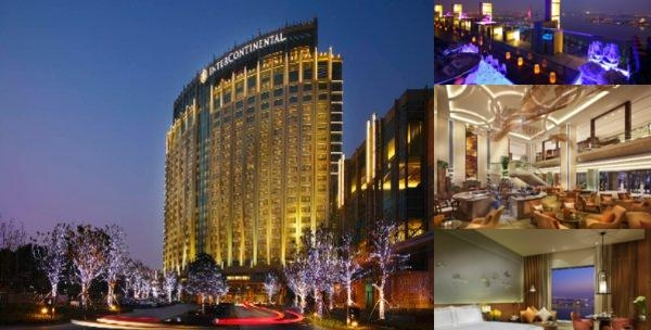 Intercontinental Suzhou photo collage