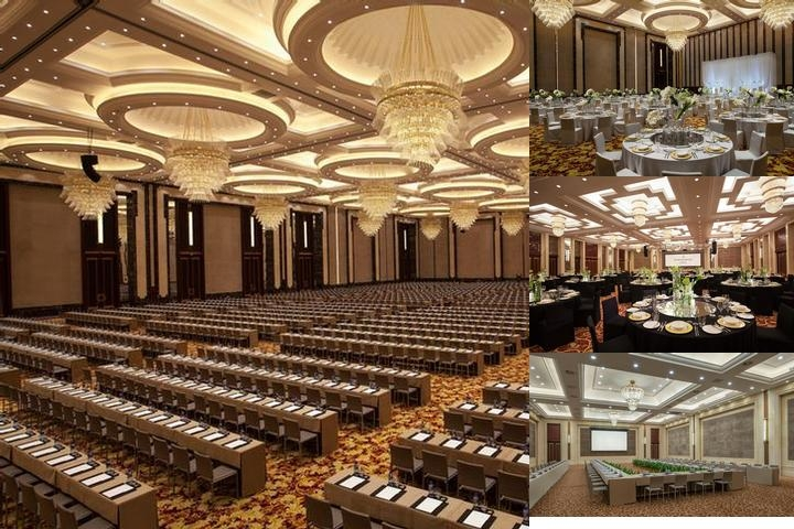 Intercontinental Wuhan photo collage